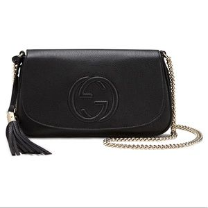 Gucci Black Soho Disco Crossbody Shoulder Bag